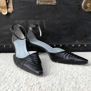 BCBG Ankle Strap Heels